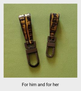BAP - Galery, E, porte-clés, vert